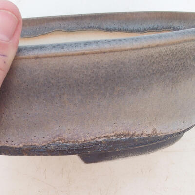 Bonsai miska 22 x 17 x 7 cm, barva šedá - 2