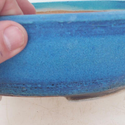 Bonsai miska 22 x 17 x 7 cm, barva modrá - 2