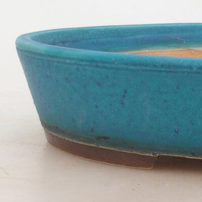 Bonsai miska 20 x 15 x 4,5 cm, barva modrá - 2