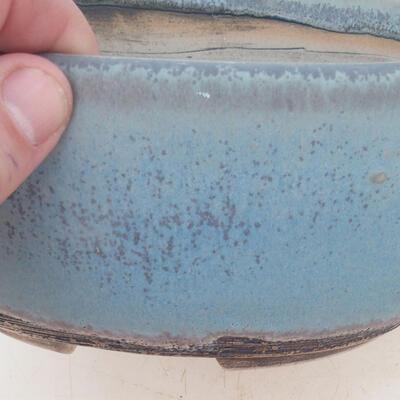 Bonsai miska 19 x 14 x 9 cm, barva modrá - 2