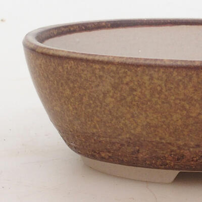Bonsai miska 16 x 11 x 5 cm, barva hnědá - 2