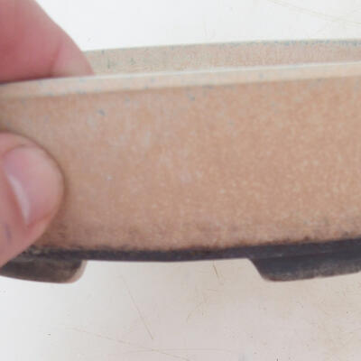 Bonsai miska 18 x 13 x 5 cm, barva béžová - 2