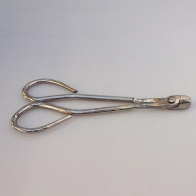 Bonsai náradie - Nožnice na drôt 19 cm strieborné - 2
