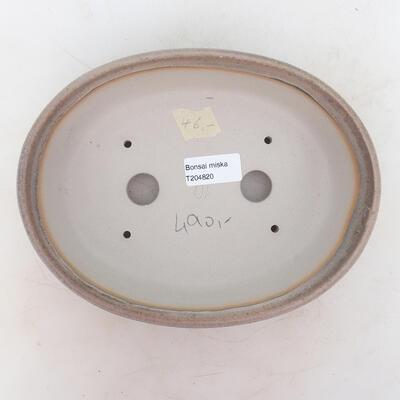 Bonsai miska 22 x 17 x 6 cm, barva šedobéžová - 3