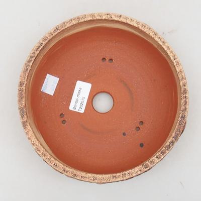 Keramická bonsai miska 18 x 18 x 7 cm, barva praskaná - 3