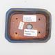 Keramická bonsai miska 2.jakost - 12 x 9 x 3 cm, barva hnědomodrá - 3/4