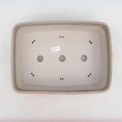 Bonsai miska 38 x 27 x 11 cm, barva šedobéžová - 3