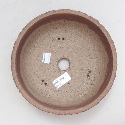 Keramická bonsai miska 20 x 20 x 7 cm, barva praskaná - 3
