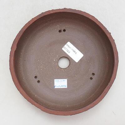 Keramická bonsai miska 17 x 17 x 5,5 cm, barva praskaná - 3
