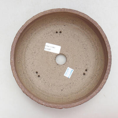 Keramická bonsai miska 21,5 x 21,5 x 7 cm, barva praskaná - 3