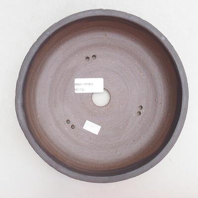 Keramická bonsai miska 19,5 x 19,5 x 6,5 cm, barva praskaná - 3