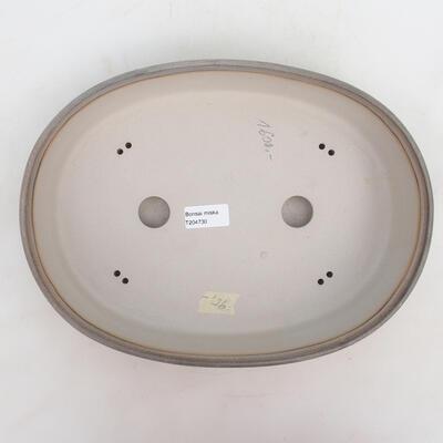 Bonsai miska 33 x 24,5 x 7 cm, barva šedobéžová - 3
