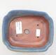 Keramická bonsai miska 15 x 12 x 4,5 cm, farba modrá - 3/3