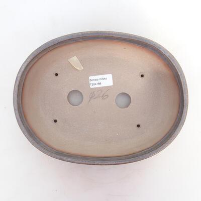 Bonsai miska 26 x 20 x 7,5 cm, barva hnědá - 3