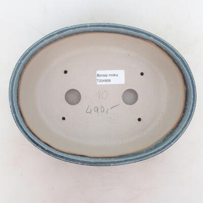 Bonsai miska 22 x 17 x 7 cm, barva modrá - 3