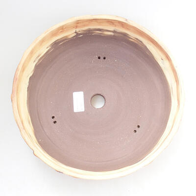 Keramická bonsai miska 28 x 28 x 8 cm, barva praskaná - 3