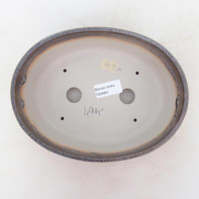 Bonsai miska 22 x 16,5 x 6 cm, barva šedobéžová - 3