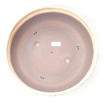Keramická bonsai miska 33,5 x 33,5 x 10 cm, barva praskaná - 3