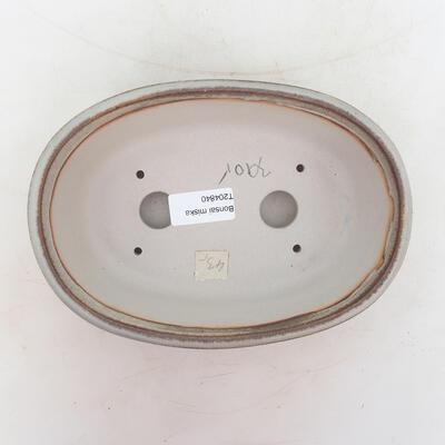 Bonsai miska 20 x 14 x 6 cm, barva šedá - 3