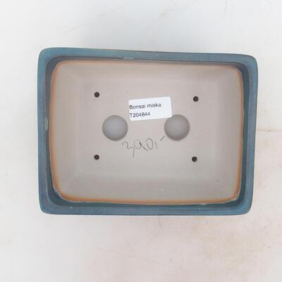 Bonsai miska 17 x 13 x 7 cm, barva modrá - 3
