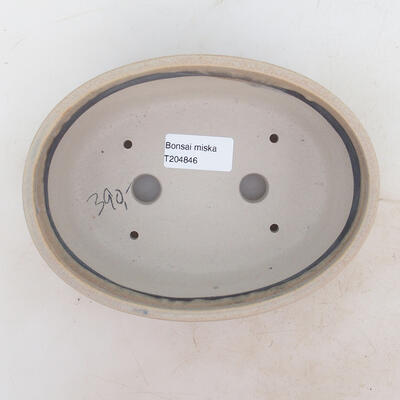 Bonsai miska 18 x 13 x 6 cm, barva béžová - 3