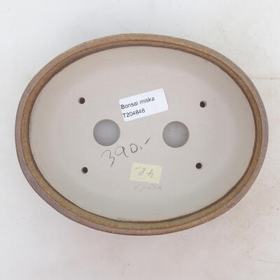 Bonsai miska 19 x 15 x 5 cm, barva hnědá - 3