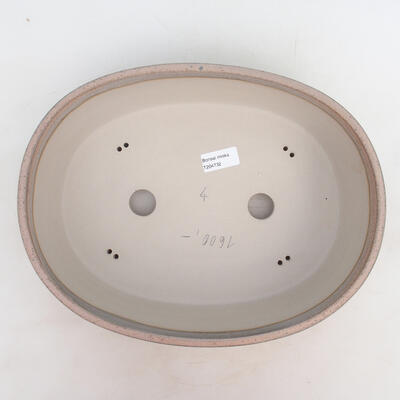 Bonsai miska 33,5 x 26 x 9,5 cm, barva šedobéžová - 3