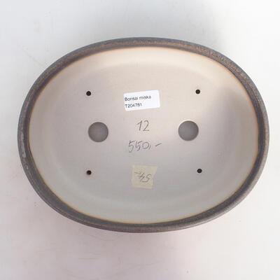 Bonsai miska 25 x 19 x 6,5 cm, barva šedobéžová - 3