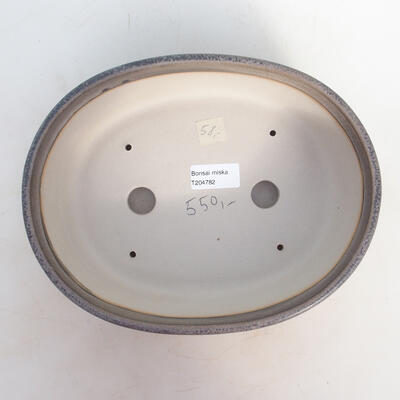 Bonsai miska 25 x 19,5 x 7,5 cm, barva šedobéžová - 3