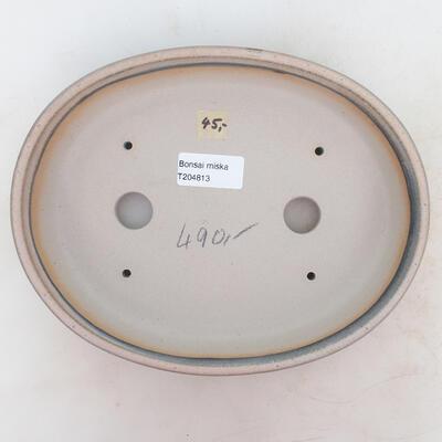 Bonsai miska 23 x 18 x 4 cm, barva šedobéžová - 3