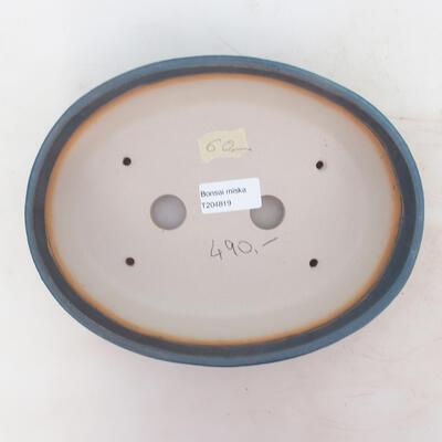 Bonsai miska 23 x 17,5 x 5,5 cm, barva modrá - 3
