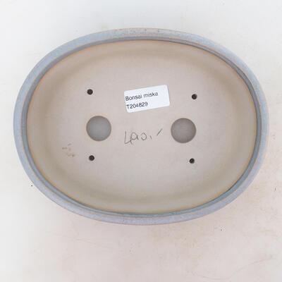 Bonsai miska 20 x 15,5 x 6 cm, barva šedá - 3