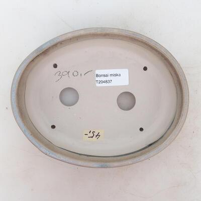Bonsai miska 19 x 15 x 4,5 cm, barva hnědobéžová - 3