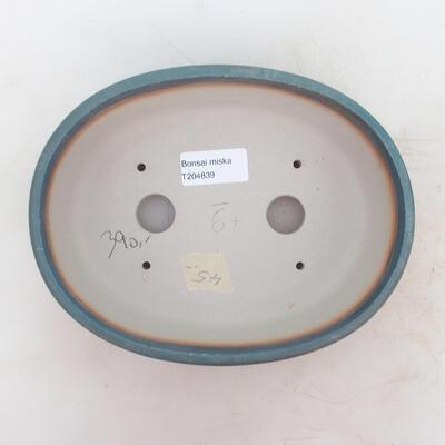 Bonsai miska 20 x 15,5 x 6 cm, barva modrá - 3