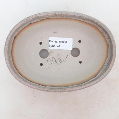 Bonsai miska 16 x 11 x 5 cm, barva šedobéžová - 3