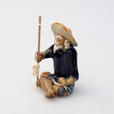 Keramická figúrka - Rybár - 3