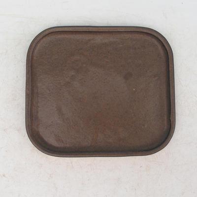 Bonsai miska podmiska H36 - miska 17 x 15 x 8 cm, podmiska 17 x 15 x 1 cm, hnedá - miska 17 x 15 x 8 cm, podmiska 17 x 15 x 1 cm - 3