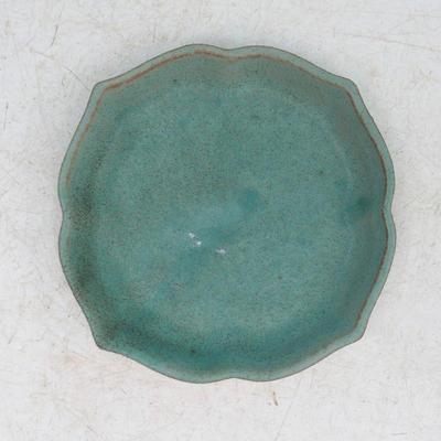 Bonsai miska + podmiska H95, zelená - 3