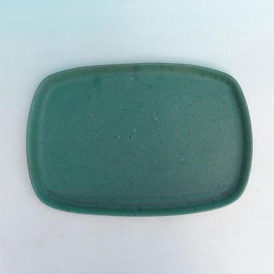 Bonsai miska + podmiska H10, zelená - 3