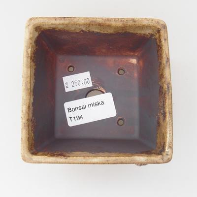 Keramická bonsai miska MUŠLE - 4