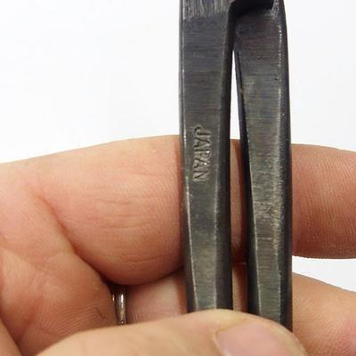 Nůžky ručně kované dlouhé  21,5 cm - 4