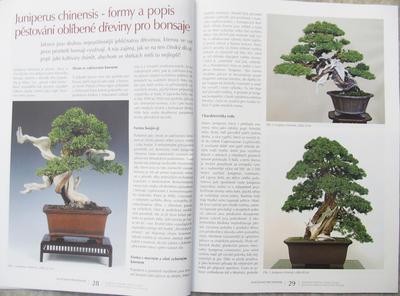 Bonsaje a Japonské záhrady sada 7 čísel 46,47,48,49,50,51,52 - 7