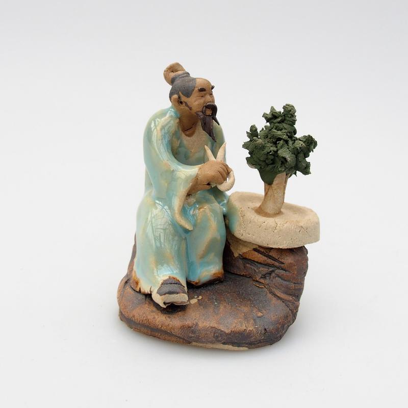 Keramická figurka - Bonsajista C