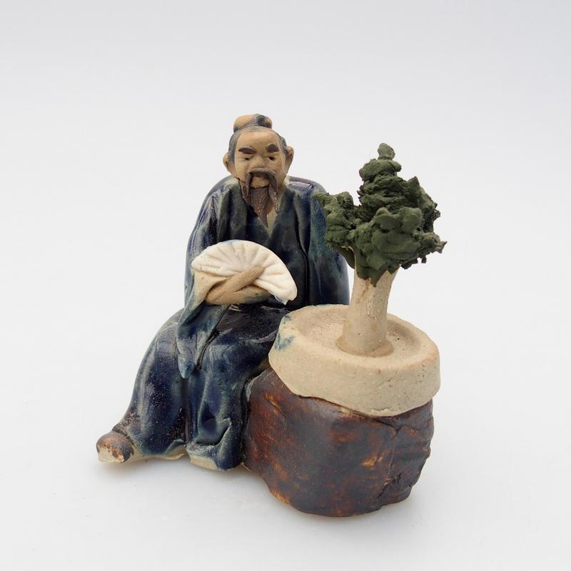 Keramická figurka - Bonsajista E