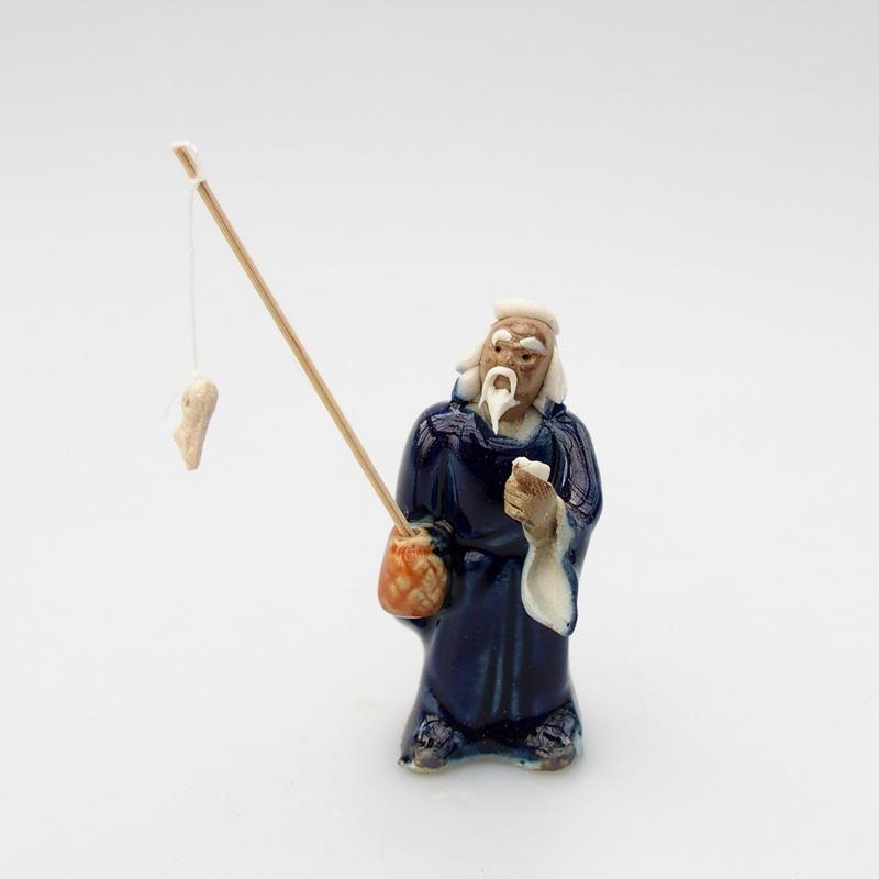 Keramická figurka - Panáček D
