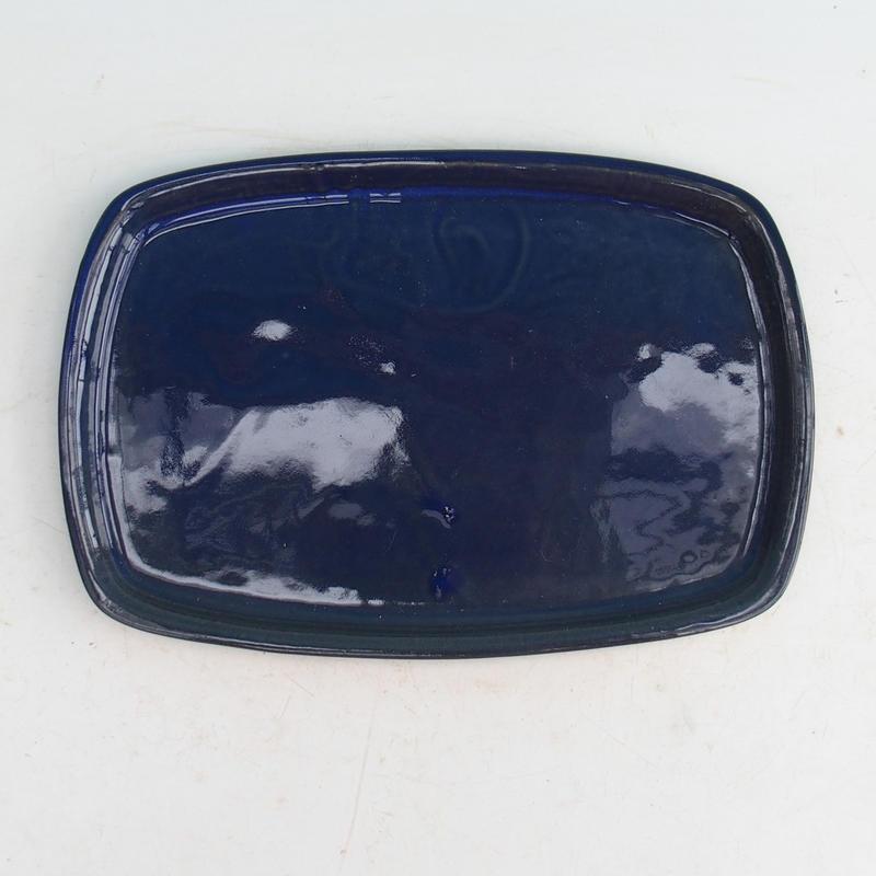 Bonsai podmiska H 08p modrá