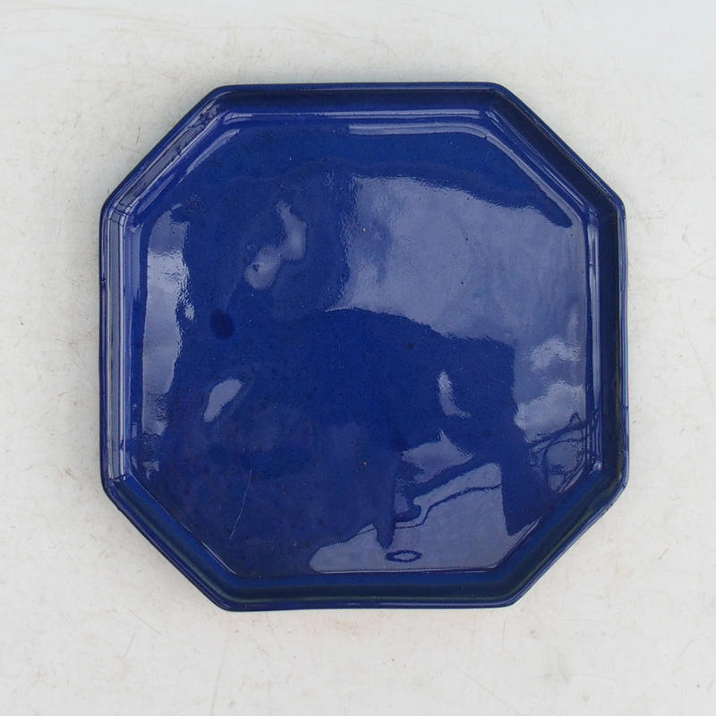Bonsai podmiska H 14 modrá