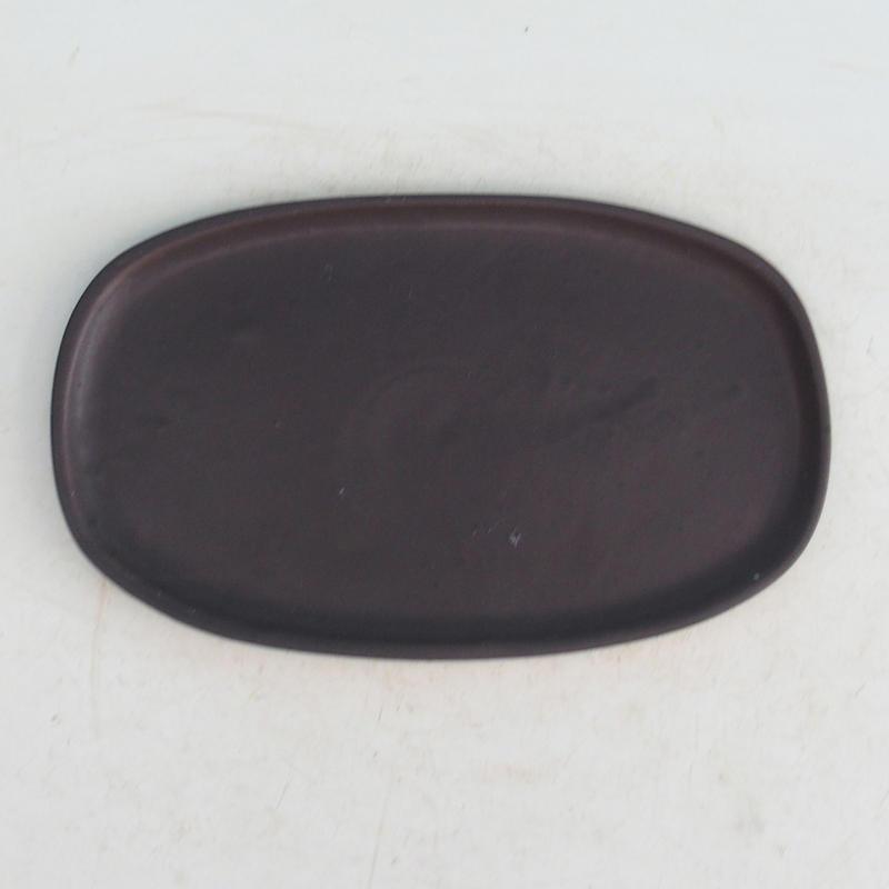 Bonsai podmiska H 15 černá matná
