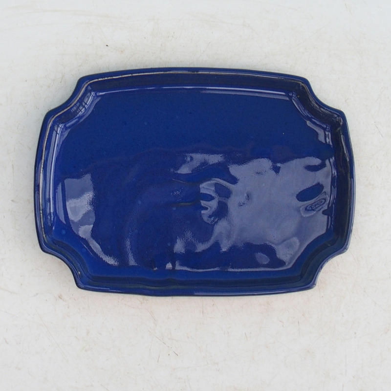 Bonsai podmiska H 17 modrá