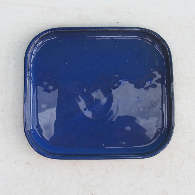 Bonsai podmiska H 37 modrá
